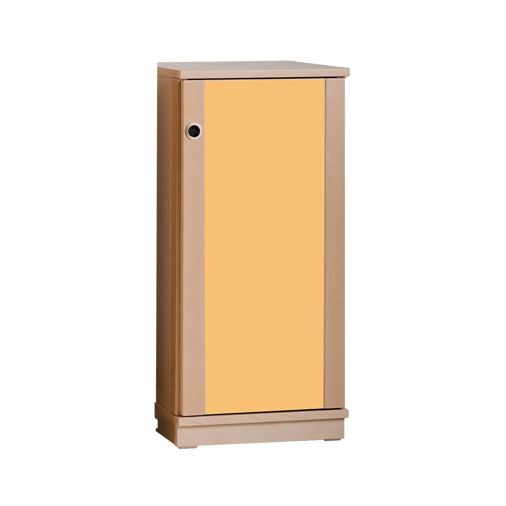 Regalschrank Buche - Türen farbig - 85 x 40 x 40 cm - 2 Böden ...